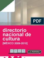 Directorio+Nacional+de+Cultura+2009 2010