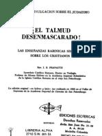 Pranaitis El Talmud Des en Mascara Do