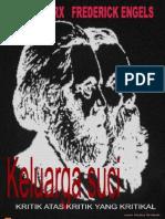 Marx & Engels - Keluarga Suci