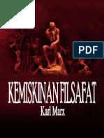 Karl Marx - Kemiskinan Filsafat