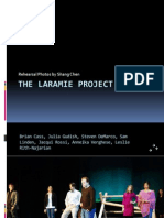 The Laramie Project Rehearsal Photos