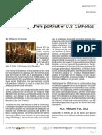 Portrait of US Catholics Oct 24,2011