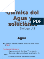 Agua y Soluciones de Microsoft Office Power Point