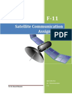 Satellite Communication Assignments