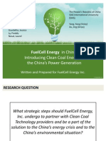 Fuel Cell Energy l China