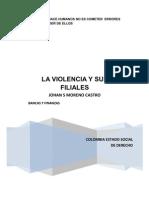 LA VIOLENCIA Y SUS FILIALES