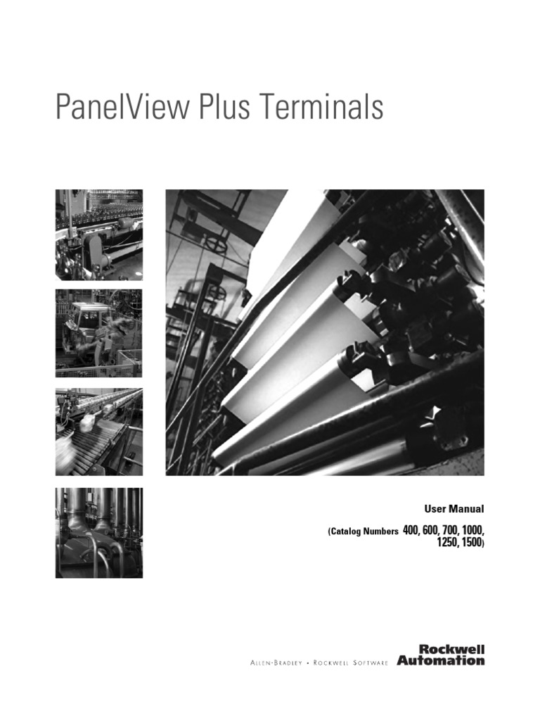 Panel View Plus Manual | Computer Terminal | Usb