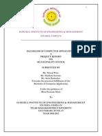 Municipality System