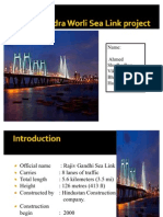 Bandra & Worli Sea Link Ppt