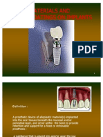 Surface Characteristics Implants