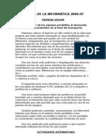 SEMANA DE LA INFORMÁTICA 2006