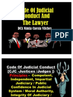 Code of Conduct and the Lawyer