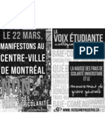 Livret d'information sur la campagne et la grève générale