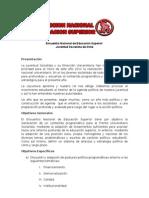 Documento de presentación