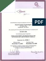 app f5 am iso9001 registration