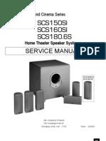 Jbl-SCS150SI 160 180SI Actspksys