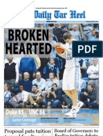 The Daily Tar Heel for February 9, 2012
