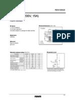 Datasheet RDN150N20