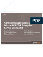 Connecting Applications With the Microsoft BizTalk Enterprise Service Bus Toolkit