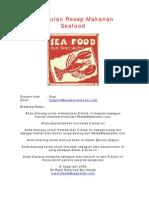 Kumpulan Resep Makanan Seafood