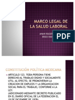 Marco Legal de La Salud Laboral