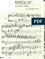 """Piano Composition  """"Impresion"""" by Augustin Vega"""