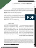 Las as y El Paramilitarismo en Colombia (1964-2006)