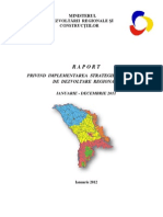 RAPORT anual / implementarea SNDR 2011 / MDRC