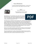 Scissor Lateral Beam Report