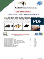 Stock Marino 9 de Febrero de 2012
