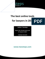 The Best Online Tools for Lawyers in 2011-Peter Naicker Attorneys