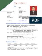 Resume of Wahyu Ari Andriyanto