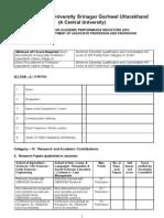 API for Direct Recruitment of Professor and Associate Professor
