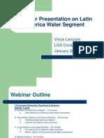 Latin America Water Segment Webinar Presentation