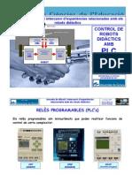 Control de robots didàctics amb PLC
