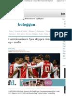 20120209.Commissarissen Ajax Stappen Op