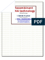 rDNA Technology-Biochemden by SATISH