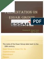 2011 Dinesh Tiwari Essar Group