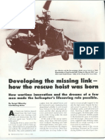 How the Rescue Hoist Was Born - Sergei Sikorsky - Professional Pilot Mag - Feb, 2006