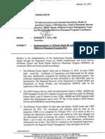 DOH Memorandum for RN Heals Batch 3