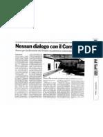 Nessun dialogo con il Consorzio