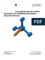 Solid Works Simulation Instructor Guide 2010 (Spanish)