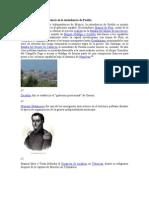 La Guerra de In Depend en CIA en La Intend en CIA de Puebla