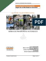 Curso de Formación Introducción a la Movilidad Urbana Sostenible