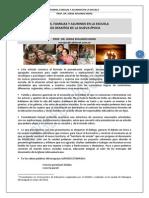 27. FAMILIA Y ESCUELA, UNA ARTICULACION NECESARIA