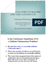 Conceptual Structural Ism