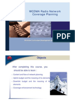 WCDMA RNP Coverage Planning