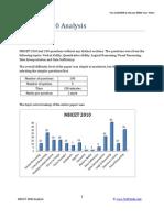 (Www.entrance Exam.net) MHCET 2010 Analysis