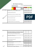 5S Audit Final Version