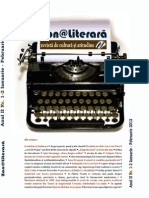 Revista Zona LIterara Nr. 1-2 Ianuarie Februarie 2012